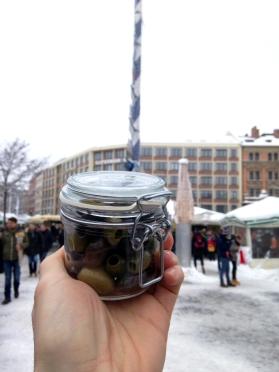 Oliven-Markt